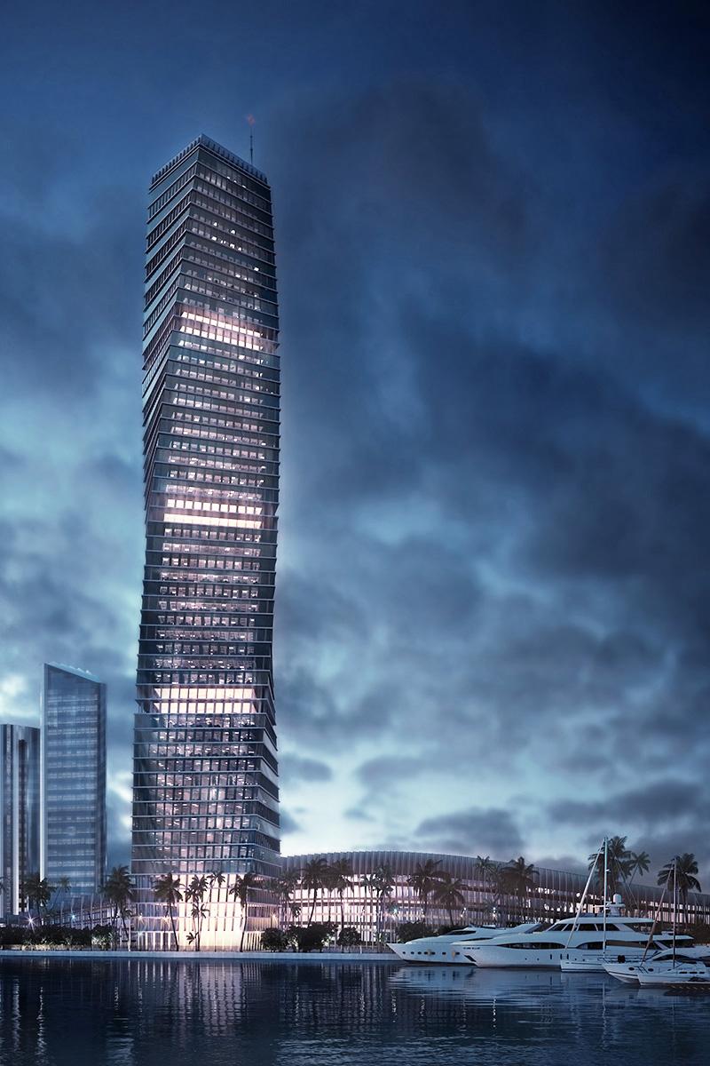 3d Visualisierung Graphex Dubai Render Architektur Visualisierung