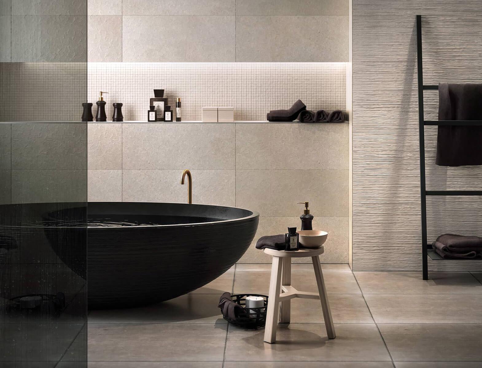 Badezimmer 3d Architektur Visualisierung zurich
