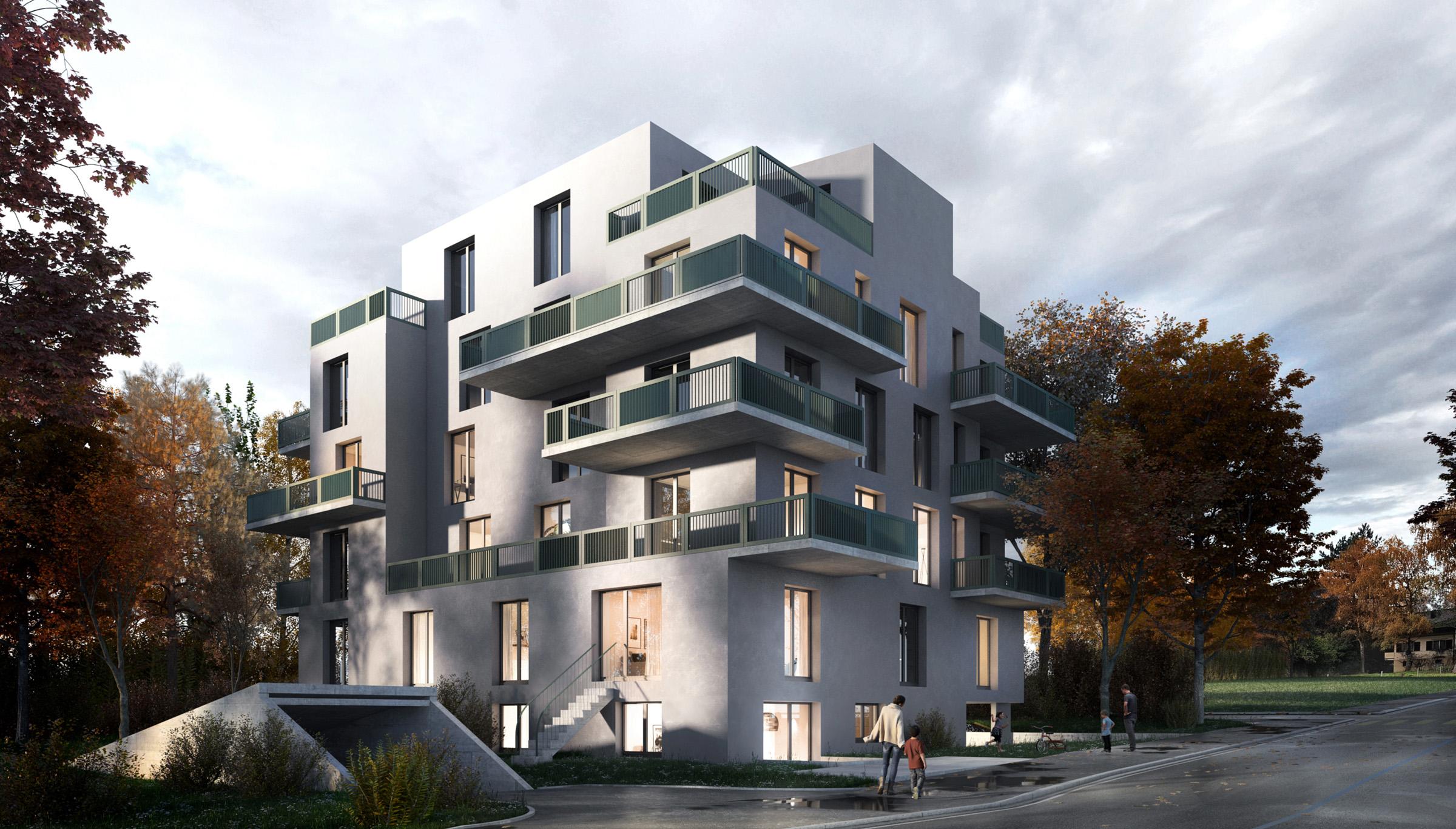 Architektur Visualisierung Kooon.